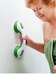 1Pcs  Practical Super Grip Suction Cup Fridge Bathroom Shower Grab Support Bar Random Color