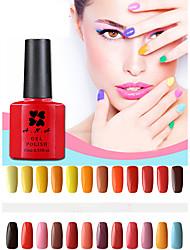 abordables -Gel UV para esmalte de uñas 0.01 1 Empapa Gel de color UV Clásico Empapa de Larga Duración Diario Empapa Gel de color UV Clásico Alta