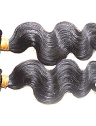 cheap -top quality 10a original brazilian virgin hair body wave 2pcs 200g lot natural color