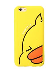 Недорогие -Кейс для Назначение iPhone 7 Plus IPhone 7 iPhone 6s Plus iPhone 6 Plus iPhone 6s iPhone 6 Apple Защита от удара Кейс на заднюю панель 3D