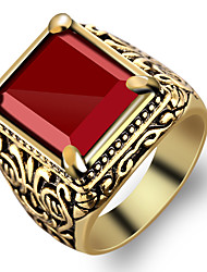 cheap -Men's Ring - Fashion Red Ring For Party / Daily / Casual