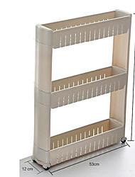 economico -1pc Scaffali e porta-oggetti Plastica Facile da usare Organizzazione della cucina