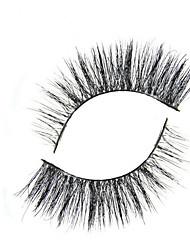 Eyelashes lash Full Strip Lashes Eyes Crisscross The End Is Longer Extended Black Band 0.25mm 9mm