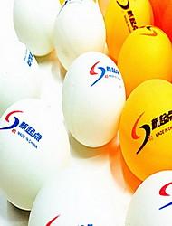 144pcs 3 Estrelas Ping Pang/Bola de Ténis de Mesa Plástico Pouco Atrito ao Vento Força Alta Elasticidade Alta Durável