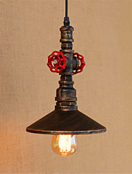 cheap -Pendant Light Downlight - Mini Style Designers, Rustic / Lodge Vintage Country, 110-120V 220-240V Bulb Included