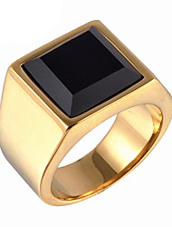 cheap -Men's Ring Statement Ring - Fashion Gold Silver Ring For Daily Casual