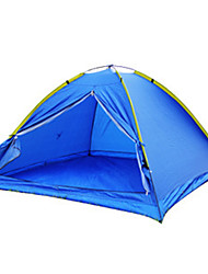 cheap -3-4 persons Tent Single Camping Tent One Room Fold Tent Waterproof Portable Windproof Dust Proof Anti-Insect Foldable Breathability Ultra