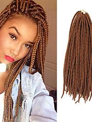 """Trecce Twist Trecce di capelli box Trecce 24 """" Capelli 100% Kanekalon Media Auburn Capelli intrecciati Extensions per capelli"""