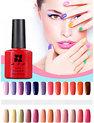 cheap -1 pcs ana 192 colors gelpolish nail art soak off uv nail gel polish 12ml 1 24