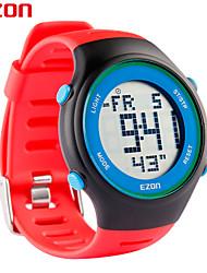 montres de mode résistant à l'eau Ezon de 3atm l008b11 ultra-mince sports de plein air montre de loisirs