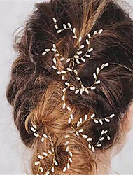 cheap -Imitation Pearl Hair Pin 1 Wedding Special Occasion Headpiece