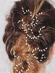 imiteret perle hårstift hovedstykke elegant klassisk feminin stil