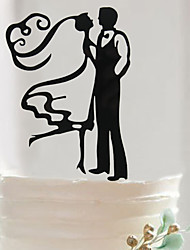 Недорогие -Аксессуары для тортов Акрил / Смешанные материалы Свадебные украшения День рождения / Свадебные прием / День Святого Валентина Классика Весна / Лето / Осень