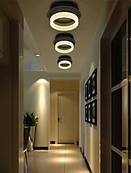 baratos -Montagem do Fluxo Luz Ambiente - LED, 110-120V / 220-240V, Branco Quente / Branco, Fonte de luz LED incluída / 5-10㎡ / Led Integrado