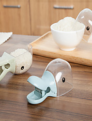 1PCS Creative Duck Multi Use Plastic Sealing Clamp Meters Shovel Household Kitchen Spoon Cute Little Dipper Gourd