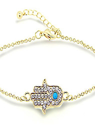 cheap -Women's Chain Bracelet - Fashion Bracelet Hamsa Hand For Christmas Gifts Sports Valentine