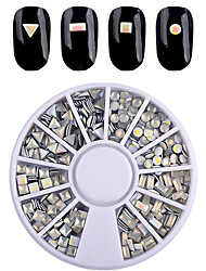 1 Unha Arte Decoração strass pérolas maquiagem Cosméticos Designs para Manicure