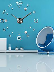 Недорогие -Модерн Офисный Семья Школа/выпускной Друзья Настенные часы,Новинки Металл 63*63 В помещении Часы
