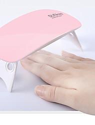 cheap -6W Mini Nail Phototherapy Lamp With USB Regularly Polish Glue Roast Lamp 1Pcs