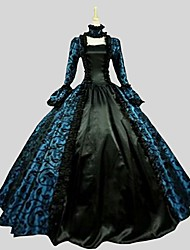 cheap -Gothic Lolita Dress Princess Women's One Piece Dress Cosplay Long Sleeves