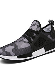 cheap -Men's Light Soles Fabric Spring / Fall Athletic Shoes Running Shoes Waterproof Black / Green