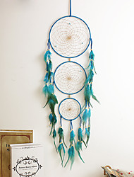 1PC Dream Catcher Decor Hanging With Feathers Hanging Decoration Dreamcatcher Net India Style Hourse Decoration