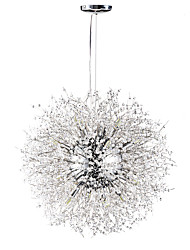cheap -Sputnik Chandelier Ambient Light - Crystal, 110-120V / 220-240V, Warm White / White, Bulb Included / G9 / 15-20㎡