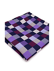 cheap -Men's Cute Party Work Rayon Necktie - Color Block Check Basic