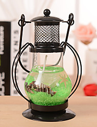 Aladdin's Light Candlestick Retro Lantern Metal Crafts Home Restaurant Romantic Candlelight Dinner Lamps Candle Holder Decor Ramdon Color