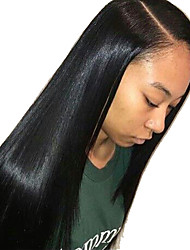 Silk Straight Human Hair Lace Wigs Indian Virgin Hair Full Lace Wigs For Women