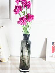 preiswerte -1 Ast PU Nelken Tisch-Blumen Künstliche Blumen 57*7*7