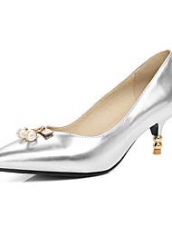 Da donna Tacchi Club Shoes Finta pelle Primavera Estate Autunno Inverno Matrimonio Serata e festa Formale Footing Club ShoesPerle di
