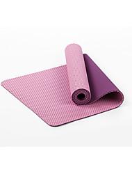TPE Yoga Mats Ecológico Sem Cheiros 6 mm Roxa