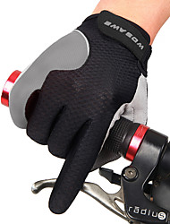 cheap -Sports Gloves Touch Gloves Bike Gloves / Cycling Gloves Wearable Breathable Wearproof Wicking Lightweight Anti-skidding Full-finger