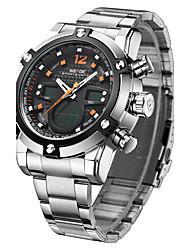 Men's Wrist watch Sport Watch Dress Watch Fashion Watch Quartz Calendar Alloy Band Charm Casual Multi-Colored