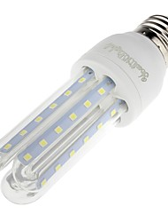 E26/E27 LED Corn Lights T 66 leds SMD 3014 Decorative Warm White 700lm 3000K AC 85-265V