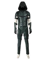 Superhéros Cosplay Costume de Cosplay Pour Halloween Costume de Soirée Bal Masqué Cosplay de Film Manteau Haut Pantalon Gants Bottes Plus