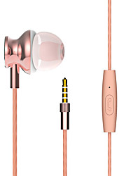 2017 New Langsdom M430 Metal Heavy bass headphones with mircophone Thread line stereo music earphone for iphone samsung huawei xiaomi