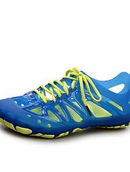 cheap -Men's PU(Polyurethane) Spring / Summer Hole Shoes Sandals High Breathability (>15,001g) Black / Dark Blue / Royal Blue