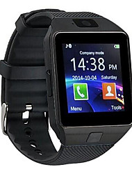 economico -dz09 bluetooth smartwatch touch screen posizionamento della carta e foto intelligente promemoria per android e ios