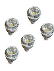 5pcs 7w  GU10 LED 220-240V Warm White Dimmablesp lights Cup Dimming Ceiling