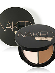 cheap -Foundation Powder Concealer/Contour Dry Powder Coverage Concealer Natural Eye Face Lip