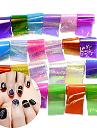 24 Nail Art samolepka Vodotlač make-up Kosmetické Nail Art design