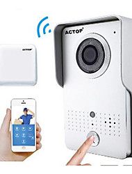 actop intelligente video di sicurezza domestica WiFi campanello di funzione di allarme citofono ios Suppot e Andriod wifi602