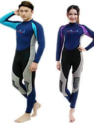 BlueDive® Unisex 2mm Dive Skins Muta intera MuteTenere al caldo Asciugatura rapida Resistente ai raggi UV Indossabile Cerniera YKK