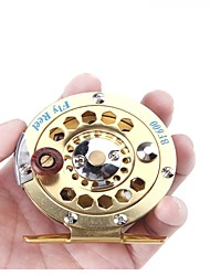 cheap -Ice Fishing Reel Fishing Reel Ice Fishing Reels Fly Reel 1:1 Gear Ratio+1 Ball Bearings Right-handed Fly Fishing Ice Fishing Other
