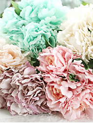 Beautiful Man-made Peony Bouquet Wedding Accessories Chic & Modern