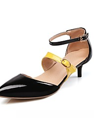 cheap -Women's Shoes Synthetic / Leatherette / PU(Polyurethane) Spring / Summer Comfort / Novelty Heels Walking Shoes Stiletto Heel Pointed Toe