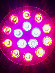 cheap -1620-1800lm E27 Growing Light Bulb 18 LED Beads High Power LED Blue Red 85-265V