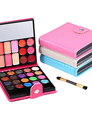 preiswerte -32 Lidschattenpalette Lidschatten-Palette Puder NormalAlltag Make-up Halloween Make-up Party Make-up Feen Makeup Cateye Makeup Smokey